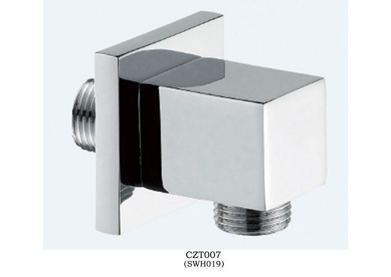 Chrome finish and wall mounted brass bathroom shower holder CZT007
