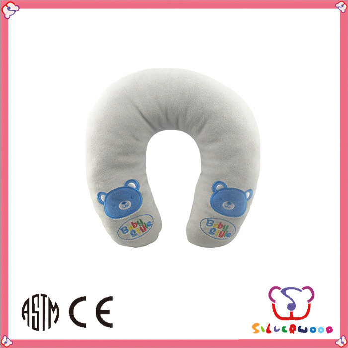 SEDEX Factory plush animal colorful kids child neck support pillow manufacturer