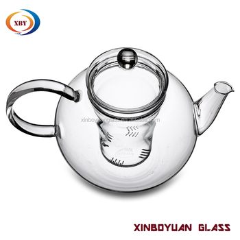 Hotsell Borosilicate Glass Coffee Maker Teapot With Lid Infuser Made In China - Buy Small Glass ...