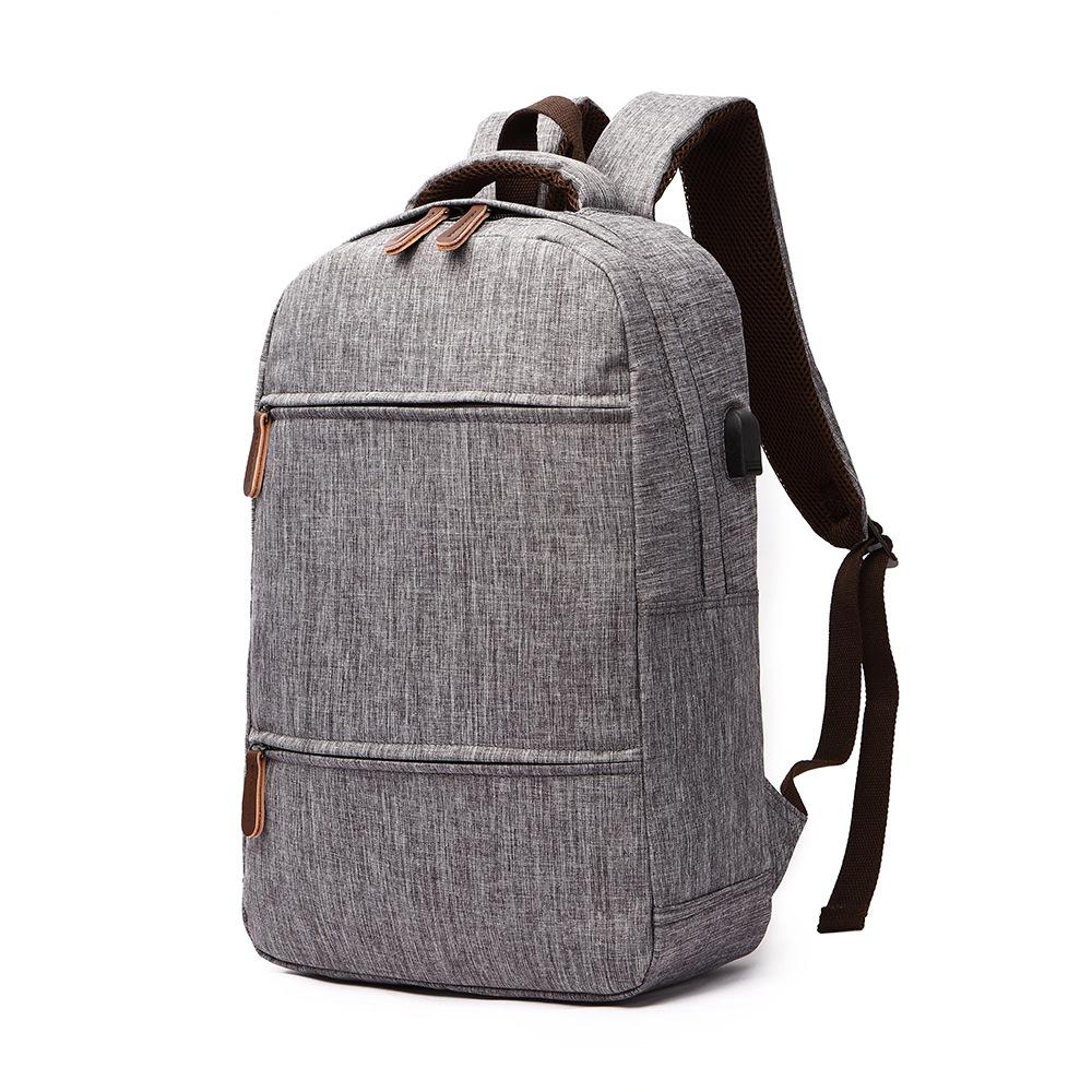 Leinwand Wasserdichte Student Jugendliche Tasche Reise Lade Usb Mädchen Laptop Rucksack Lässig Schultasche Adrette Für Multifuction c5LARjS34q