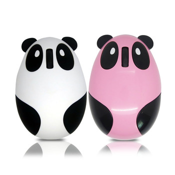 cute panda shaped rechargeable mouse wireless mouse without battery