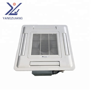 china yangzijiang ceiling concealed fan coil unit/ FCU commercial using cassette type