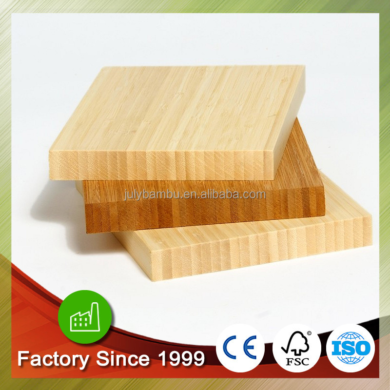 Good quality bamboo plywood 12mm 1-ply bamboo furniture sandwich board