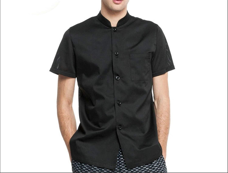 1eb22577380 Get Quotations · Desirca Chef Jacket Food Service Men Women Cook Uniform  Clothing Cooking Clothes Chef Shirt Clothes Restaurant