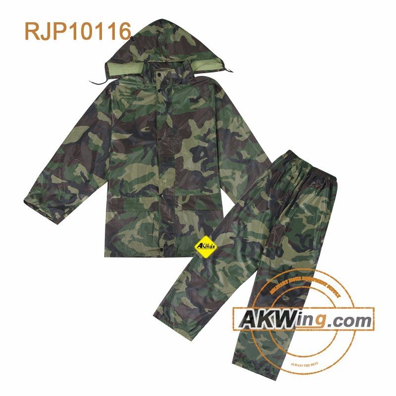 Military Rain Coat Airsoft Gears Rain suits