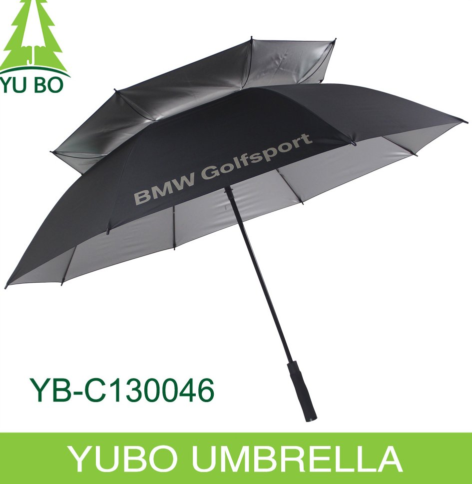 30 inch auto open wind resistant BMW golf umbrella