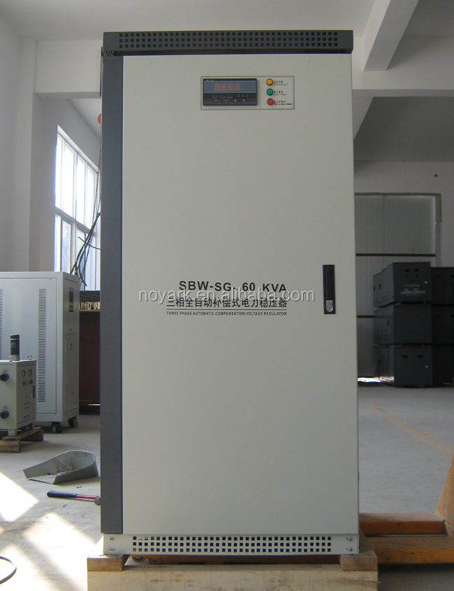 60 kva 3 phase electricity stabilizer,3 phase 60kva electric stabilizer