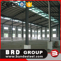 cheap prefab light steel structure workshop