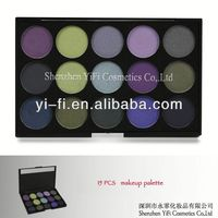 15 Cold Color Eyeshadow Palette brand eyeshadow