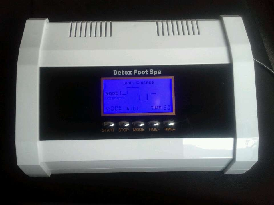 Unique Ionic Cleanse Detox Foot Spa With Buddle Foot Function ...