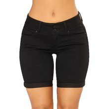 Sexy Black Denim Jeans <span class=keywords><strong>Frauen</strong></span> Shorts High Quality <span class=keywords><strong>Hose</strong></span> Jeans