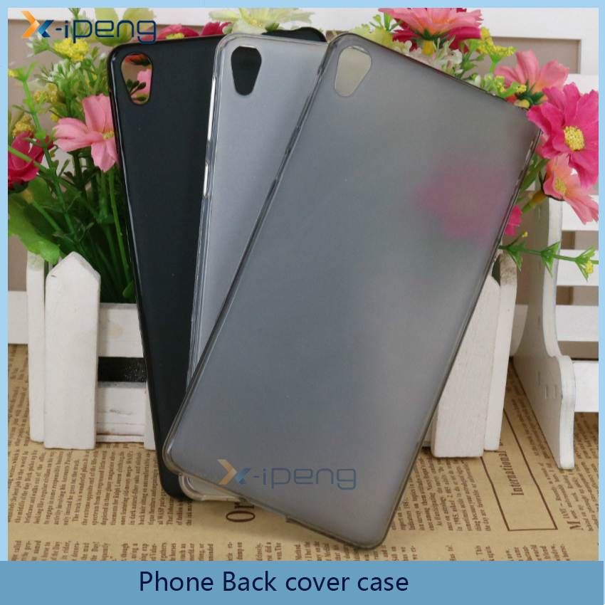 Wholesale phone accessories TPU back cover case for sony e5