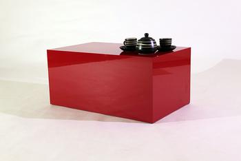 Tavolino Salotto Rosso.Rosso Lucido Ferrari Cubo Soggiorno Tavolino Mobili Di Design Italiano Buy Tavolo Da Salotto Design Del Mobile Moderno Famoso Designer Di Mobili