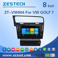 Car Dvd player for VW GOLF 7 Support 3G/V-10disc/Audio/Video