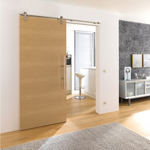 Interior MDF sliding wooden doors