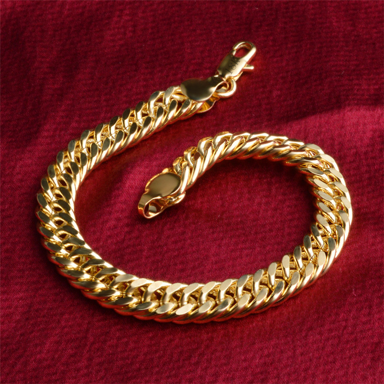 الجملة الترويجية 2018 سحر المجوهرات فريدة من نوعها الذهب مطلي سوار من النحاس الأصفر