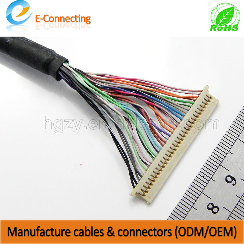 cables with MSB240420 pin headers