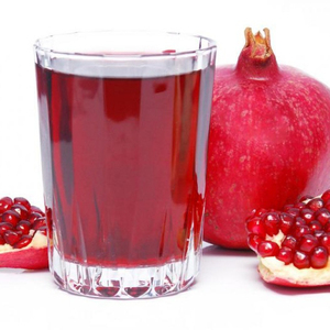 Natural and pure pomegranate juice concentrate