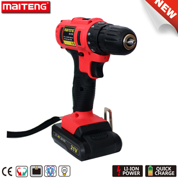 21V Shop Source Cordless Drill Wireless Power Tools