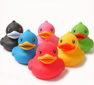 Soft Duck Waterproof Wholesale Ducks-Bath Toys
