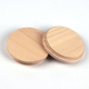 China Factory Round Ecofriendly Wooden Candle Cup Lid
