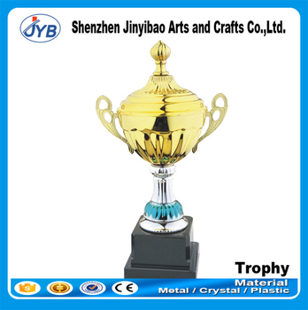 New Design Trophies Award Parts Custom Metal Gold Trophy For Sports