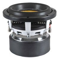 China OEM company most popular Double magnets car audio subwoofer 8 inch 500W RMS cool car speakers and subwoofers