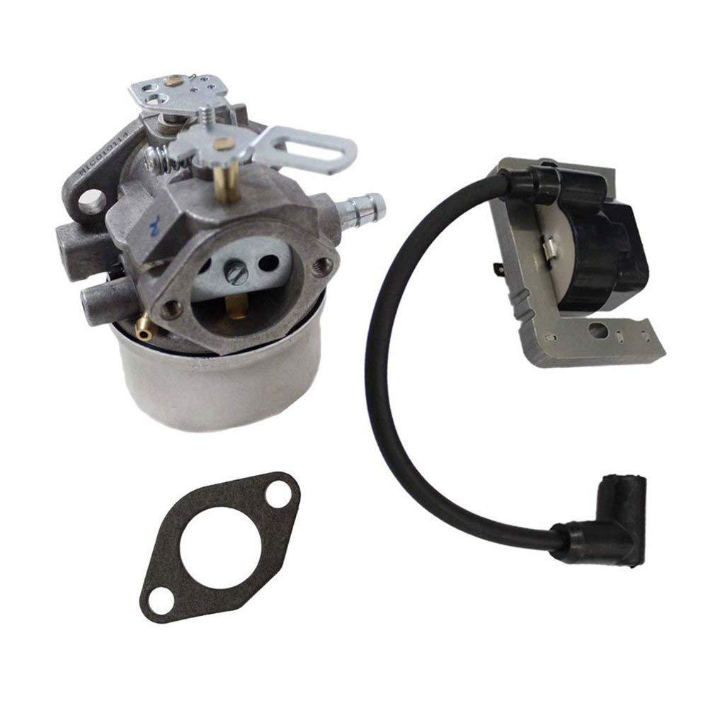 HURI Carburetor Ignition Coil for Tecumseh 640349 8hp 9hp 10hp HMSK80 HMSK90