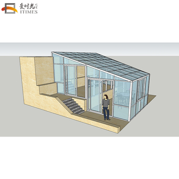 China Top Brand Aluminio Terraza Acristalada Patio Al Aire Libre Habitación Prefabricada Solarium Paneles Buy Patio Al Aire Libre Sala Prefabricada