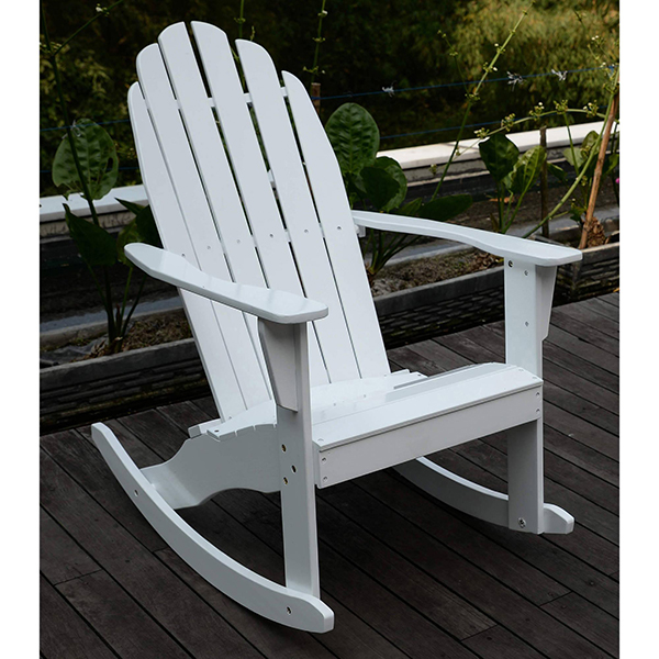Factory high quality adirondack rocking chair wood