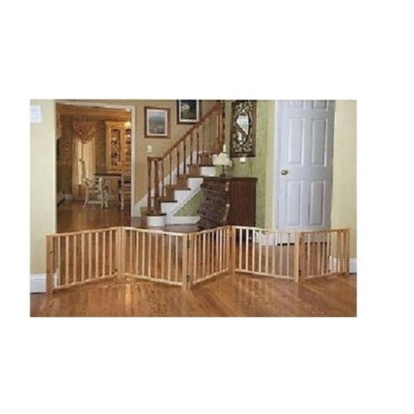 haustier zaun indoor freistehende katze spaziergang ber 5 panel massivholz klapp hund tor buy. Black Bedroom Furniture Sets. Home Design Ideas