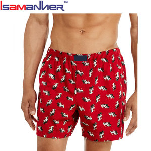 Fashion design underwear breathable mature mens boxer shorts