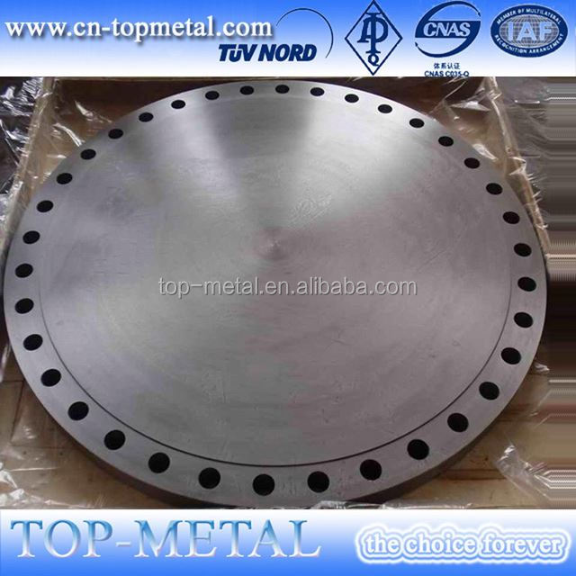 carbon steel forged blind flange en 1092