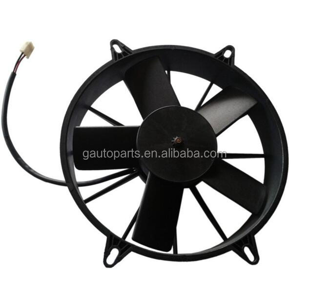 Auto Air Conditioner Condenser Fan Motor And Condenser Fan Assy