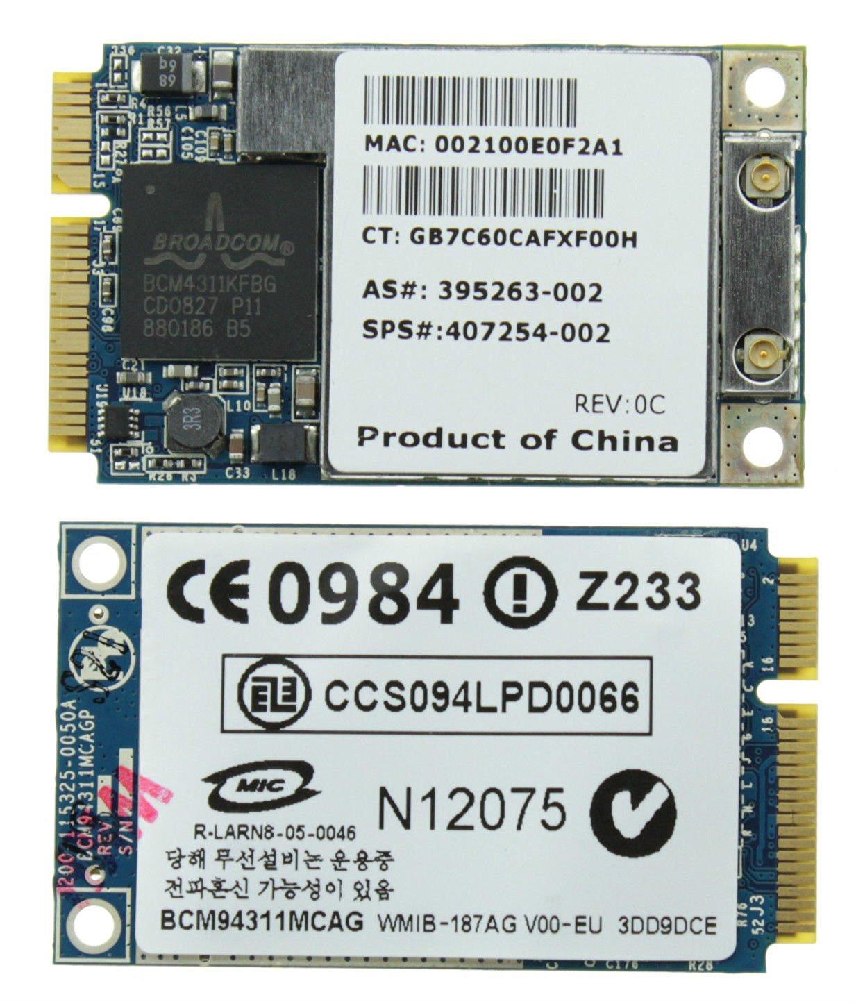 Acer Aspire 7530 Broadcom WLAN Drivers for Mac