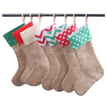 DEMI Wholesale Monogrammed Personalized Canvas Christmas Stocking