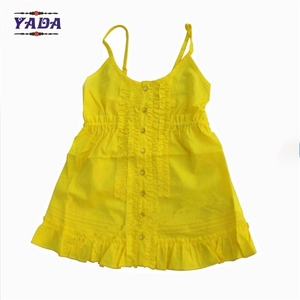 Breathable cotton sexy ruffle hem design camisole ladies girls women tank tops wholesale tanktop