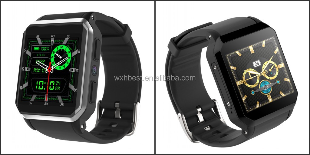 New Arrival Waterproof KW06 Smart Watch 3G Watch Phone With Camera/SIM/GPS/Heart Rate Monitor Mobile Phone Smart Watch