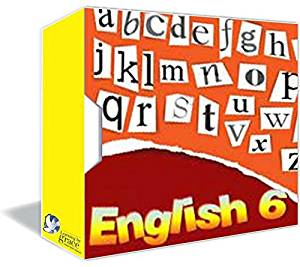 ENGLISH 6th GRADE Online Course w/ Teachers - Full Year – Accredited Online HomeSchooling Course - Christian HomeSchool Curriculum - 180 Daily Lessons - MultiMedia Rich - Private Christian School since 2001