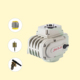 High Quality pvc ball valve keystone butterfly valve 6v mini electric actuator Factory supply