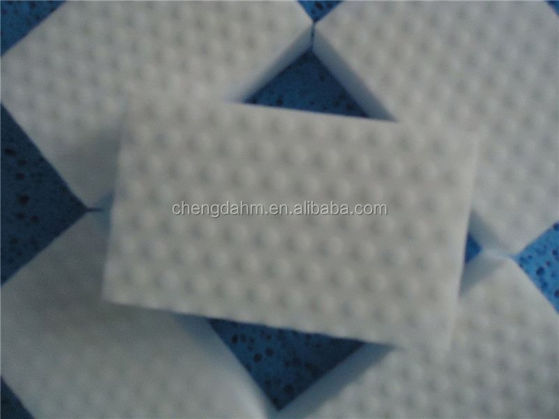 normal cleaning sponge with souring pad/melamine whitening sponge