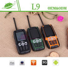 Dual SIM Card IP67 Waterproof Rugged Phone ALPS L9 big font big sound mobile phone