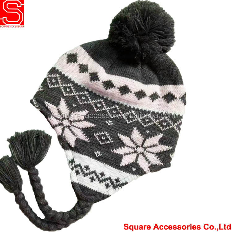 Rich Fashion Hats Winter Kids Unicorn Hat Warm Knitted Hood Wool Scarf Beanies Animal Cap Cape Pocket Gloves