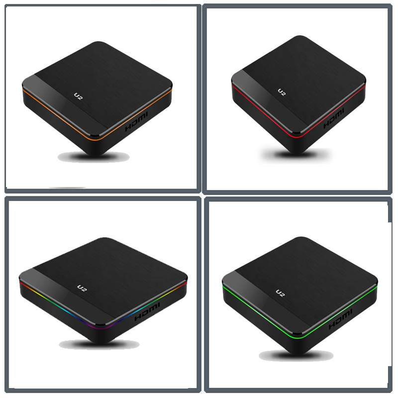 S905X2 Android 9.1 4GB DDR4 32GB eMMC 4K TV Box con Display A LED Dual Band WiFi Bluetooth