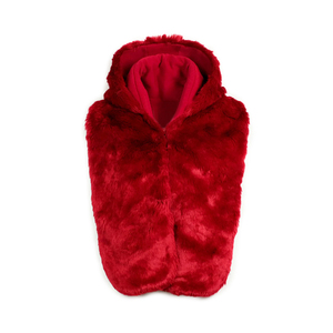 Wholesale fashion red beautiful winter coat for women