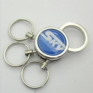Fashion car key keyring man boy keychain for multiple keys