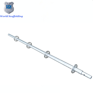 Standard galvanized ringlock scaffolding spigot used for construction