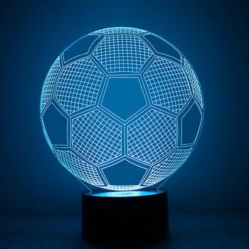 Gadget 2019 Neue Art Acryl Nacht Licht 3d Kreative Led Lampe Fur Verkauf 3d Fussball Form Wirkung Lampe Buy Acryl Nachtlicht 3d Kreative