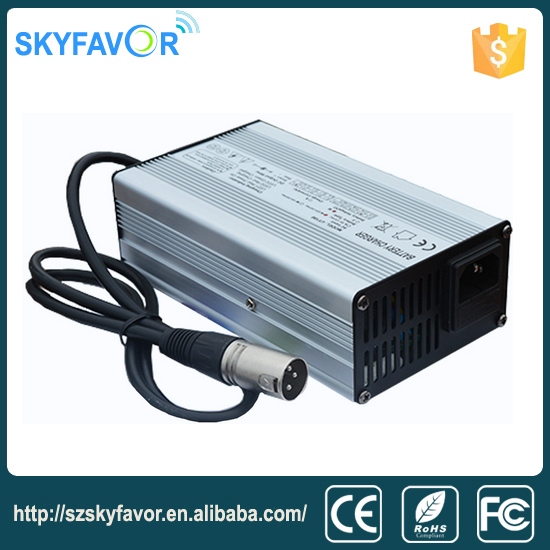 36 volt 4A fast portable lifepo4 36V battery charger for forklift