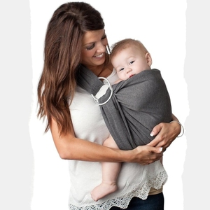 34d94897552 Amazon hot sale ergonomic lightweight breathable breastfeeding conveniently ring  baby carry sling wrap carrier